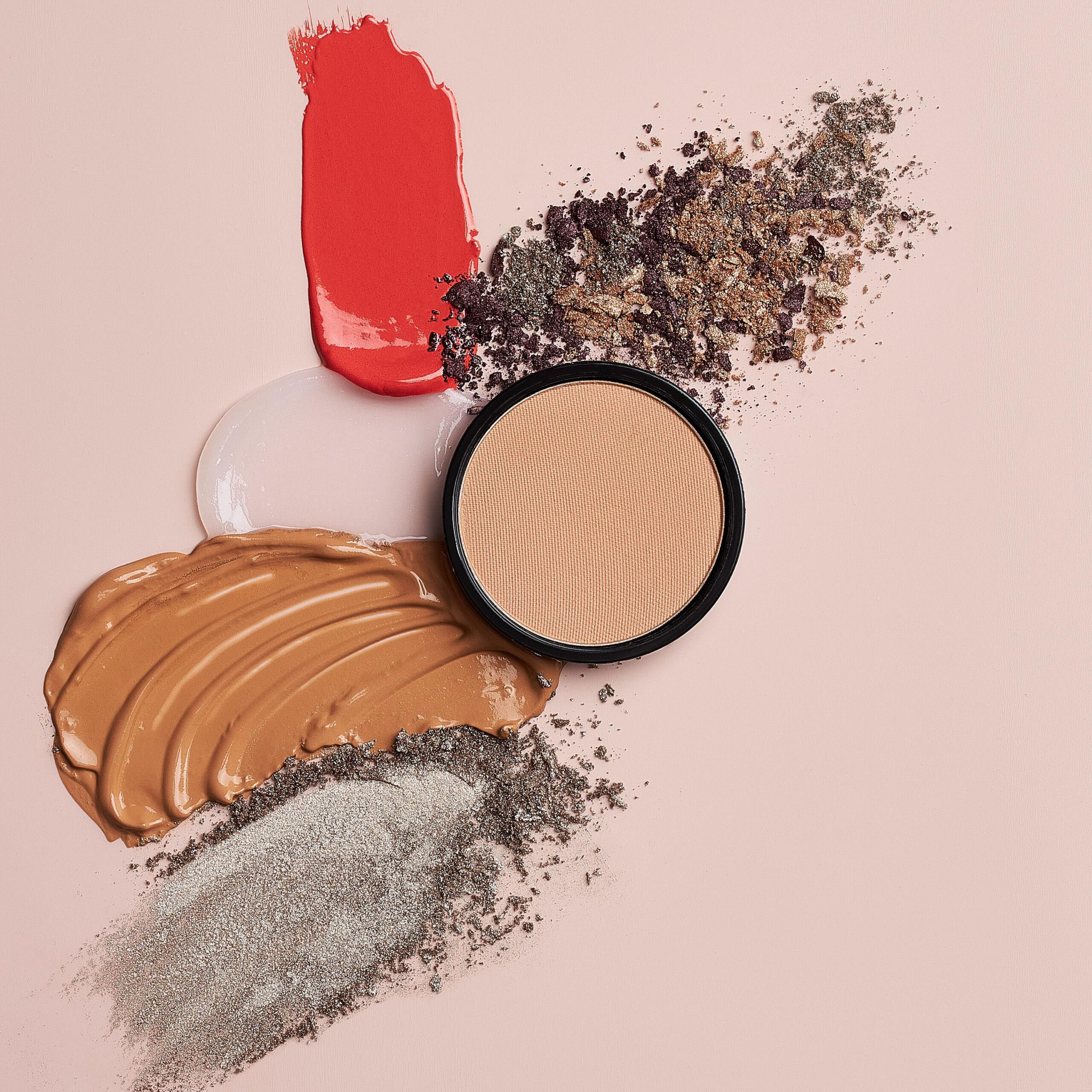 kosmetik texturen fotografie