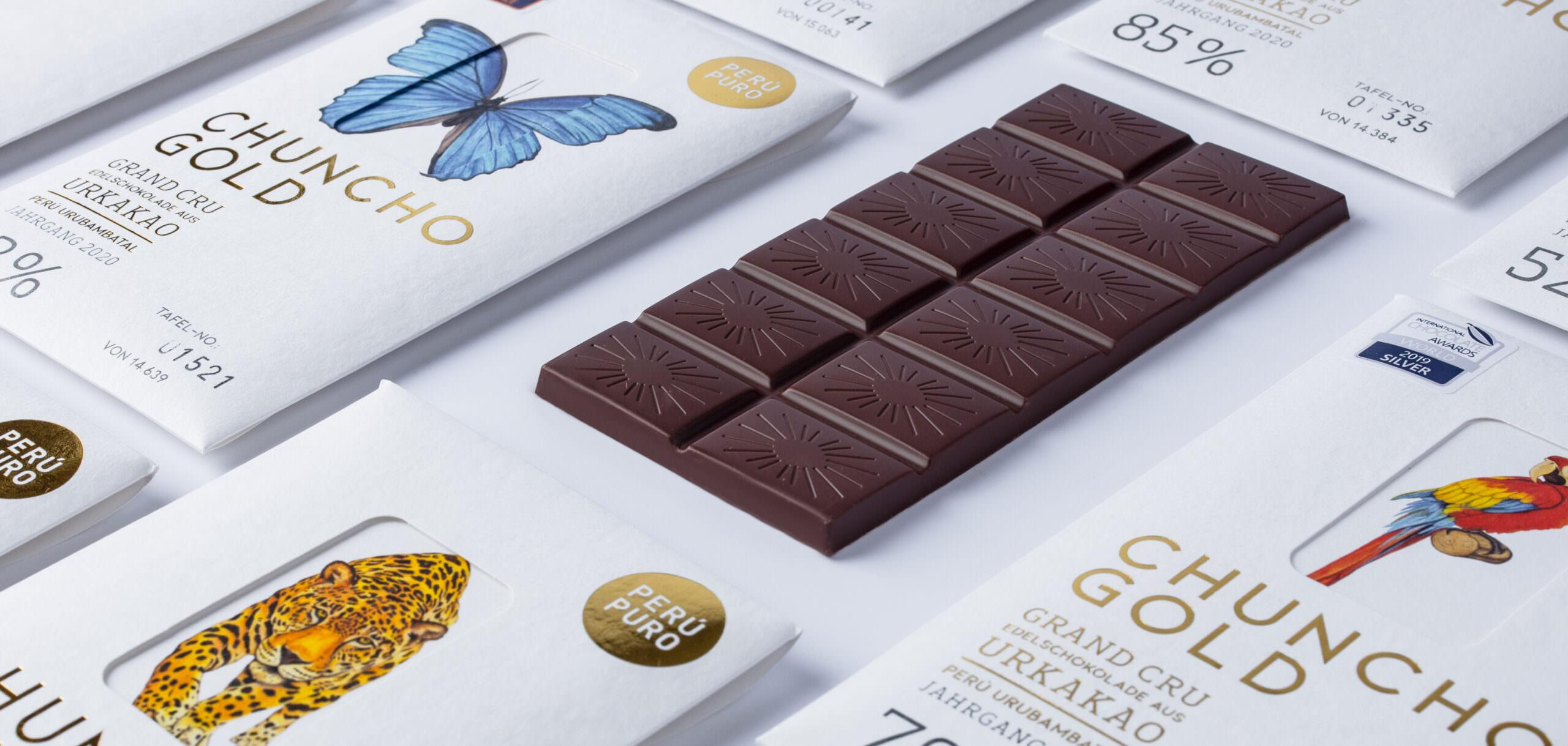 Schokolade Werbefotografie